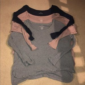 AMERICAN EAGLE SWEATERS ALL 3!